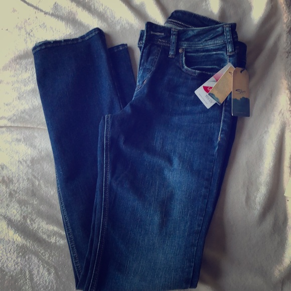 Silver Jeans dark Avery Slim Boot 29 33 New NWT